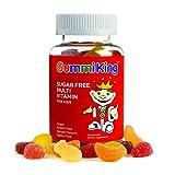 King, Sugar-Free Multi-Vitamin, For Kids, 60 Gummies