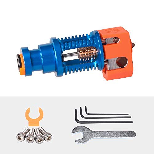 Phaetus Dragon Hotend 3D Printer Accessories Dragon All Metal Hotend Standard High Flow Rate Extruder Compatible with Prusa I3 MK3 Titan Extruder BMG Extruder (Standard Flow in Blue)