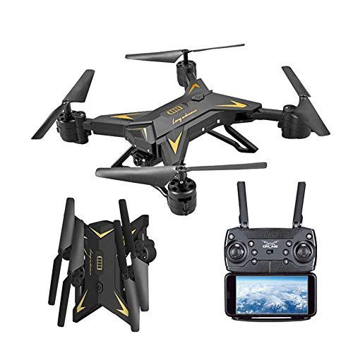 Balock Schuhe RC Quadcopter,Faltbare WiFi FPV RC Quadcopter Drohne,Mini RC Quadcopter,mit 1080P 5.0MP Kamera Selfie Drohne,WiFi Echtzeitübertragung, Headless Modus + One-Key-Return (Schwarz)