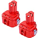 <span class='highlight'><span class='highlight'>GatoPower</span></span> 2 Pack 3.0AH Ni-MH Replacement for Makita 12V Battery PA12 1233 1234 1235 1235B 1235F 192696-2 192698-8 192698-A 193138-9 193157-5 Cordless Power Tool
