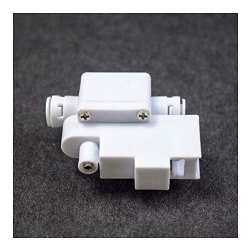 Tubo de PVC 10pcs RO del tanque de agua de alta presión interruptor normalmente cerrado un polo 1/4' sistema de ósmosis inversa DE Manguera de conexión tubo