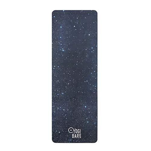 Yogi Bare Teddy - Tappetino Yoga con Microfibra Ecologica con Gomma Naturale - Cosmic