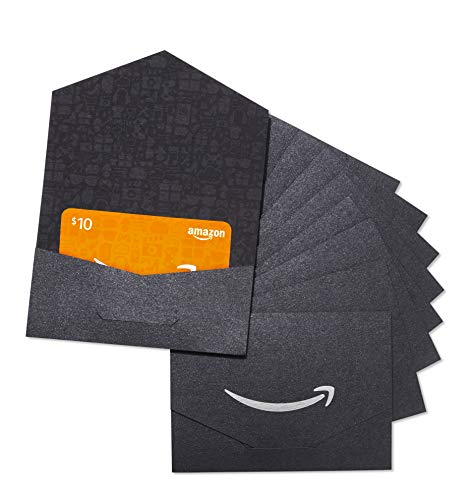 Amazon.com $10 Gift Card - Pack of 10 Mini Envelopes