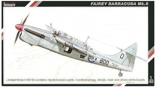hasta un 70% de descuento Special Hobby 48069 Fairey Barrcuda Barrcuda Barrcuda Mk5 1 48 Plastic Kit  comprar mejor