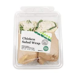 Fresh And Ready, Wrap Chicken Salad, 10 Ounce