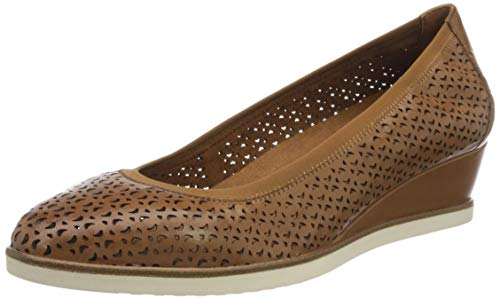 Tamaris Damen 1-1-22312-24 Pumps, Braun (Cognac 305), 39 EU