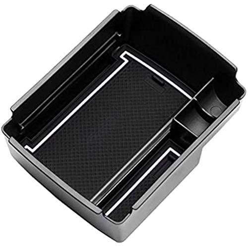 YFBB Car Apoyabrazos Caja Almacenamiento Box, para VW Golf 7 GTI GTE Armrest Central Organizador Bandeja Storage Decoración,Coche Estilo Accesorios