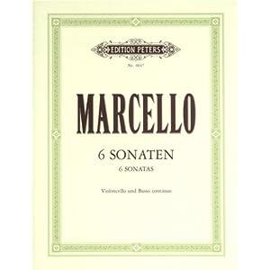 6 Sonaten. Violoncello, Klavier
