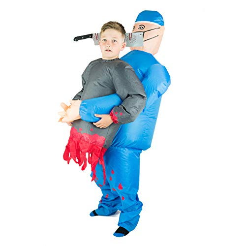 Bodysocks® Opblaasbare chirurg tilt je kostuum op (kinderen)