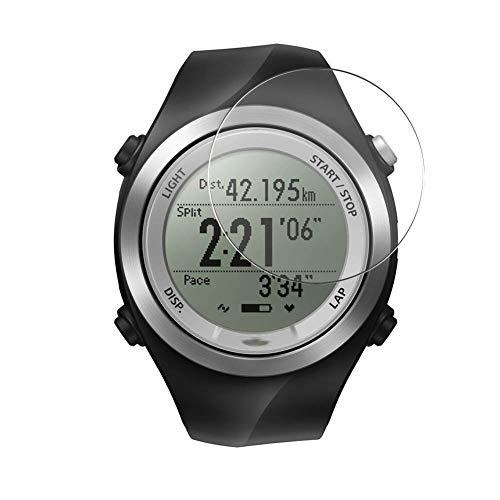 Vaxson 3 Stück Schutzfolie, kompatibel mit Epson Runsense SF-710 Smartwatch Hybrid Watch, Bildschirmschutzfolie TPU Folie [ nicht Panzerglas ]