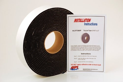API LDTT200P Topper Tape for Mounting Truck Caps / Camper Shells (1 roll 2