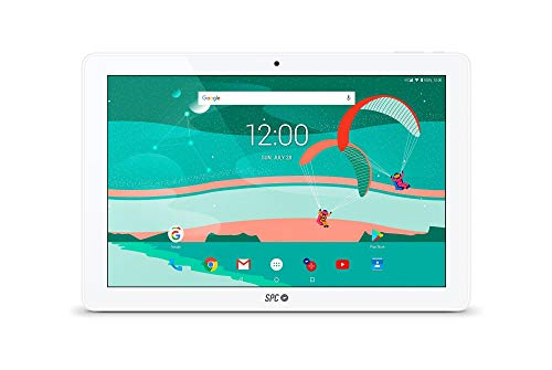 SPC Gravity - Tablet 4G con pantalla IPS HD 10.1 pulgadas, memoria interna 16GB, RAM 2GB, WiFi y Bluetooth – Color Blanca (Reacondicionado)