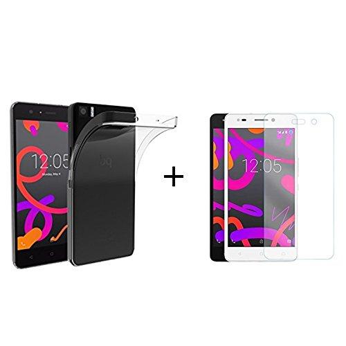 Mb Accesorios Pack Protector de Pantalla, Cristal Templado con Pegamento Completo +...