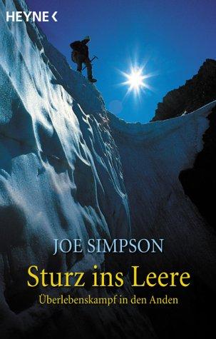 Buchseite und Rezensionen zu 'Sturz ins Leere' von Joe Simpson