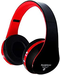 Foldable Wireless Bluetooth 3.5MM Stereo Headset Headphones Handsfree Mic For Apple iPhone