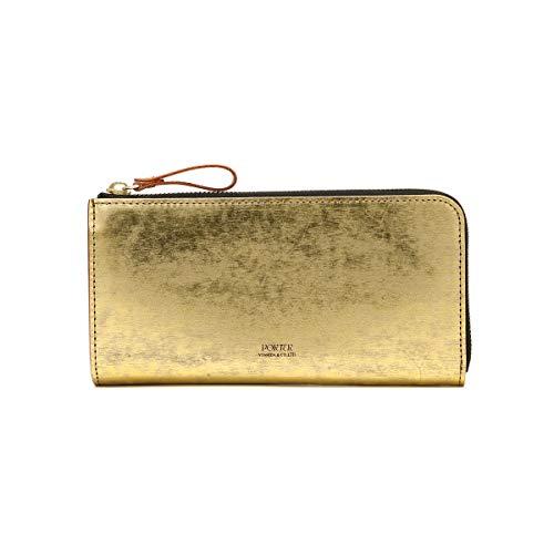 [ポーター]PORTER フォイル FOIL WALLET 長財布 195-01329 ゴールド/40