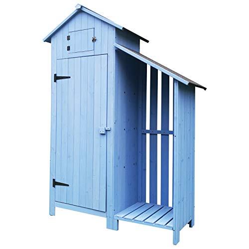 Gerätehaus mit Brennholzlagerraum