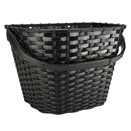 FISCHER Fahrradkorb vorne, schwarz