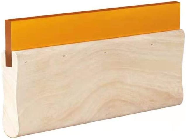 DELIOU Ranking TOP7 Silk Stencil Screen Ink Printing Scr Squeegee,Wooden Max 71% OFF