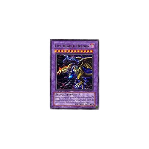 Yu-Gi-Oh! - Five-Headed Dragon (SD09-ENSS1) - Structure Deck 9: Dinosaur's Rage - Unlimited Edition - Super Rare
