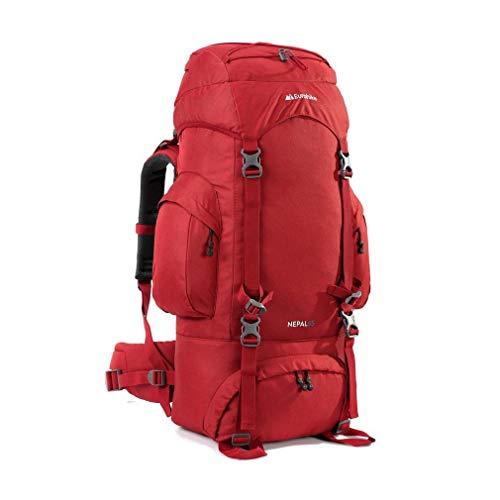 Eurohike Nepal 65 Rucksack, Red, One Size
