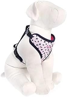 ED Ellen DeGeneres Love Comfort Pink & Navy Dog Harness~XX-Small~