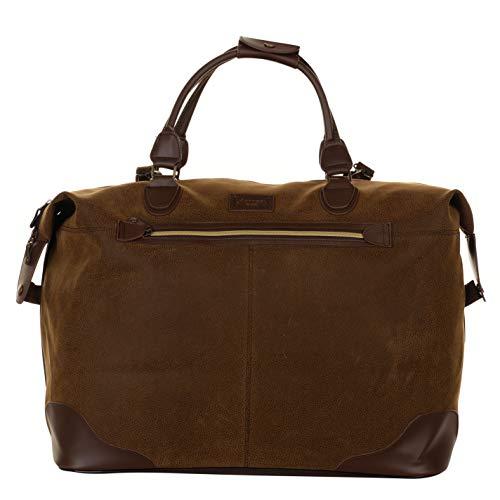 Kangol Overnight Holdall Brown -