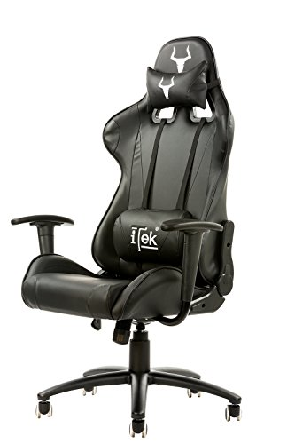 Itek Gaming Chair Taurus P2, Pelle Sintetica, UNICA