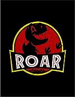 【FOX REPUBLIC】【吠える ティラノザウルス】 黒マット紙(フレーム無し)A3サイズ