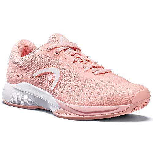 HEAD Women's Revolt Pro 3.0 Tennis Shoe (10, Rose/White)