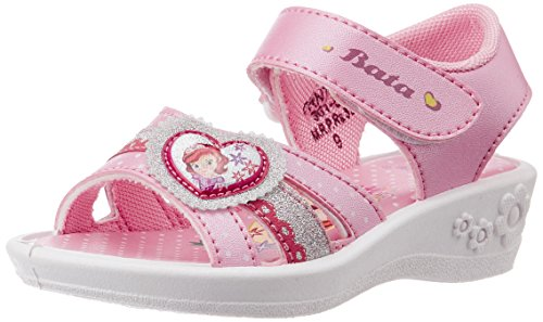 Bubblegummers Girl's Princess Pink Sandals - 12 Kids UK/India (31 EU) (3615090)