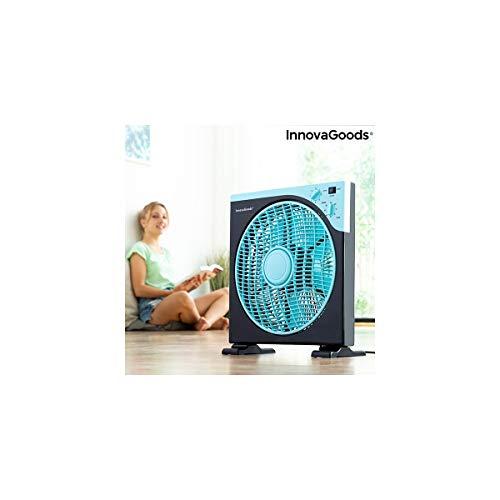 Ventilador de Suelo Box InnovaGoods Ø 30 cm 50W Negro Azul