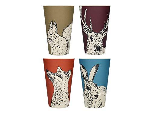 Creative Tops C000301 Vasos de fibra de bambú