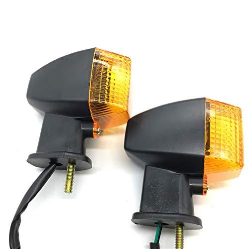 Lámpara de la luz de la señal de la señal de Giro Delantera para KLE 250/400/50 ZXR250 ZXR400 ZXR750 ZXR 0 ZRX1100 ZRX1200 R/S (Color : Turn Signal Light)