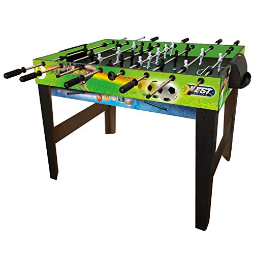 Best Sporting Tischkicker Multi 4 in 1 mit Kicker Billard Tischtennis Airhockey