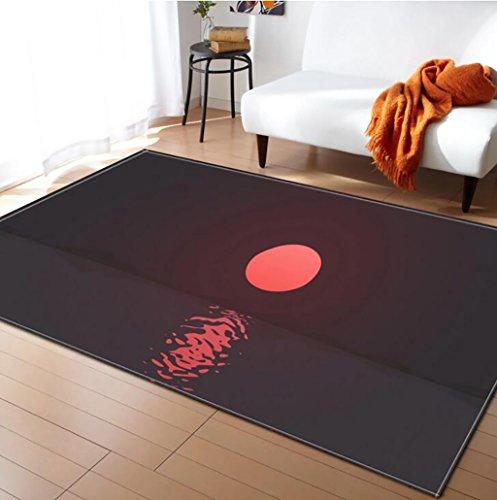 Creative Light- Tapis 3D MultiWare/Anti-Skid/Rectangulaire/Soft Pile Tapis Salon Chambre Étudier Cuisine Intérieure Mat Chevet Couverture (Couleur : #4, Taille : 100x150cm)