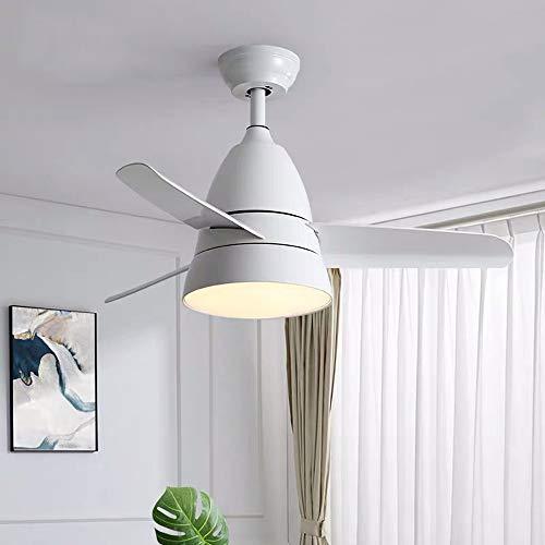 FHUA Lampadario Moderno Lighting Fan Light Techo Ventilador Luz Comedor Sala de Estar Dormitorio Nordic Simple Moderno Wild Hogar Fan Aparador Decoración