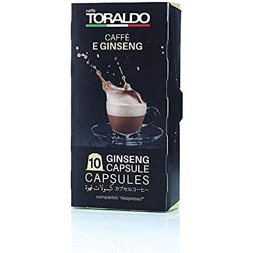 Caffè Toraldo Ginseng Capsules Compatibili con 'Nespresso' 10 Capsule