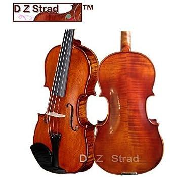 """D Z Strad Viola Model 101 with Case, Bow, Shoulder Rest and Rosin (15"""")"""