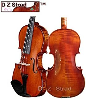 D Z Strad Violin 120 with Case, Bow, Shoulder Rest, and Rosin