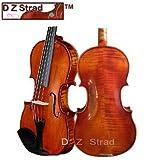 D Z Strad Violin 120 with Case Bow- 3/4 Stradivarius Factory Direct High-Grade Student Violin … …