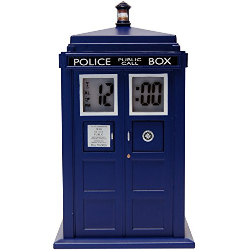 "Doctor Who Projizierender Wecker ""Tardis\"""