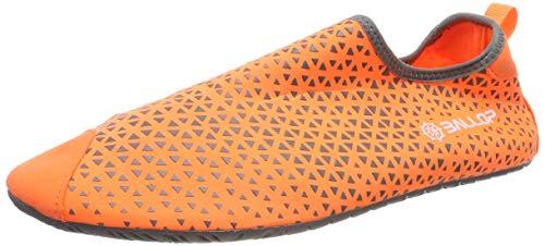 BALLOP Triangle Barfußschuhe V1-Sohle Wasserschuhe Skin Fit orange, Bekleidungsgröße:L