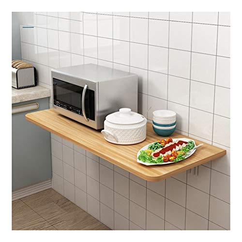 Scrivania Invisibile Montata A Parete,Design Ad Angolo Tondo Pieghevole Liberamente del Tavolo Pranzo Ecologico Tavolo da Lavoro,per Ufficio in Casa