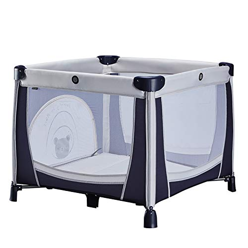 Babify Parque de Bebé Plegable Space Journey - Con bolsa de transporte.