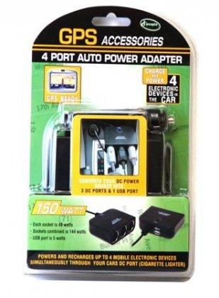 GPS 4 Port Auto Power