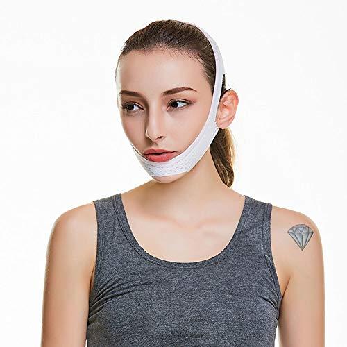 3°Amy Bandage Lifting Chin Cheek Slim Lift Up Anti Rides Masque Ultra-Mince V Visage Ligne de Ceinture Bracelet Bande Chin Cheek Slim Lift Up Anti Rides Masque