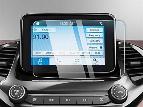 XUNGED Coche Multimedia Radio Pantalla Protector De Pantalla Ajuste Para KA Plus/Aspire/Freestyle Sync 3 2018 2019 Auto Accesorios Interior Auto