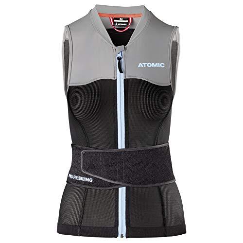 ATOMIC Damen Live Shield Vest W Ski-Protektor-Weste, Black/Grey, XS