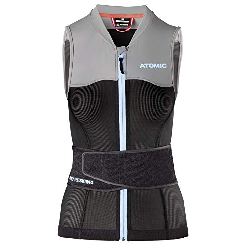 ATOMIC Damen Live Shield Vest W Ski-Protektor-Weste, Black/Grey, L